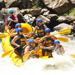 Whitewater Rafting near Denver
