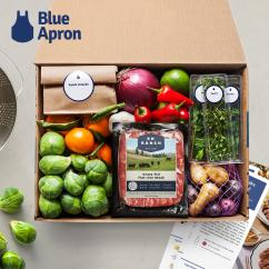 Blue Apron Meal Delivery Gift