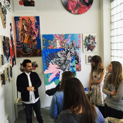 Private Art Tour in Brooklyn New York