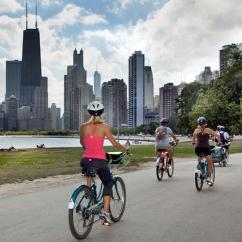 Sunset Bike Tour in Chicago