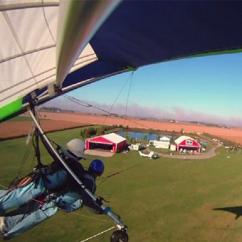 Tandem Hang Gliding Flight in Chicago