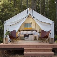 Glamping in the Bay Area