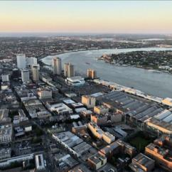 Downtown Views during Romantic New Orleans Helicopter Tour