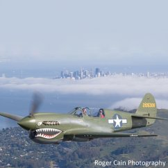 Ride in a P40 Warhawk