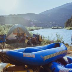Overnight Rafting Trip in Browns Canyon