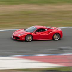 Race a Ferrari at Charlotte Motor Speedway