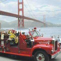 Fire Engine Tour in San Francisco