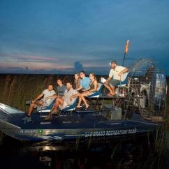 Airboat Tour after Dark