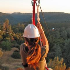Zipline Adventure near San Francisco
