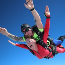 Free Fall during Tandem Skydive
