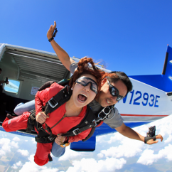 Tandem Skydiving adventure near Fort Lauderdale