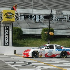 Stock Car Ride Along at Pocono Speedway