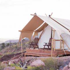Deluxe Safari Tent near Zion National Park