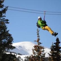 Leadville Ziplining Thrills