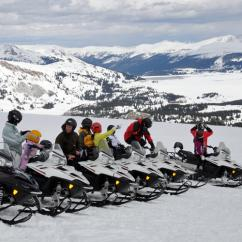 Guided Snowmobile Tour near Denver