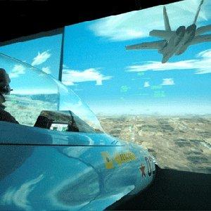 Military Flight Simulator in Orange County