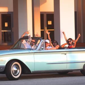 Tour Miami in a convertible