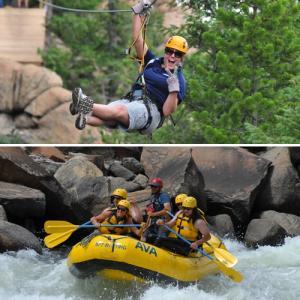Whitewater Rafting & Ziplining in Denver