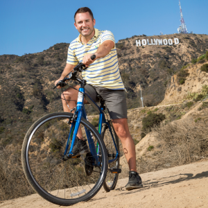 Bike to the Hollywood Sign