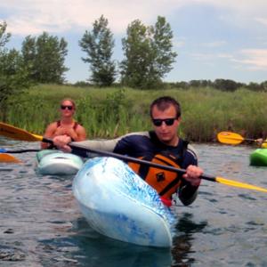 Beginner Kayaking Lesson in Denver