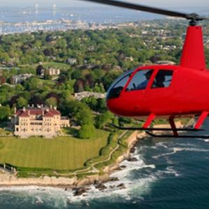 Helicopter Sunset Tour in Rhode Island
