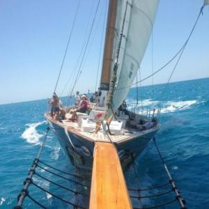 Schooner on Mimosa Cruise in Key West