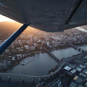 Scenic Flight over Portland