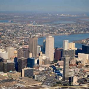 Romantic Aerial Tour in New Orleans