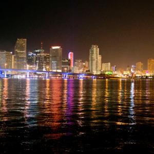 Romantic Night Flight in Fort Lauderdale
