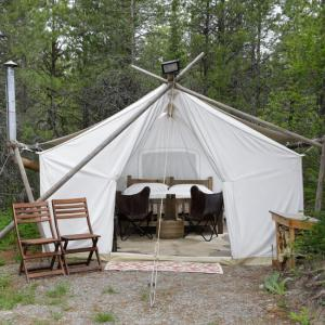 Safari Tent near Glacier National Park