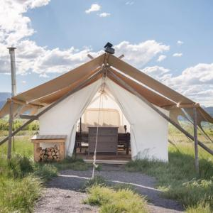 Glamping near Yellowstone