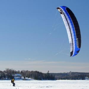 Intro to Snow Kiting in Minneapolis