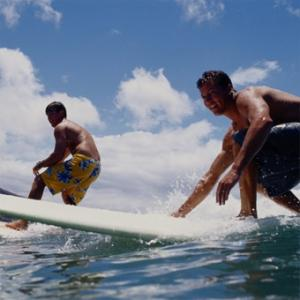 Private Surfing Lesson in San Diego