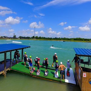 Wakeboard Cable Park Day Pass in Houston