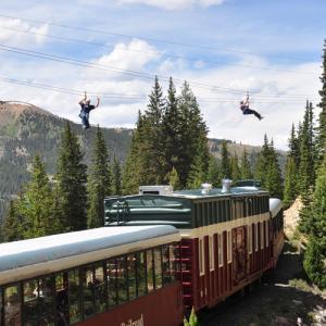 Leadville Train and Zip Line Tour
