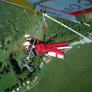 Tandem Hang Gliding Flight in Nashville