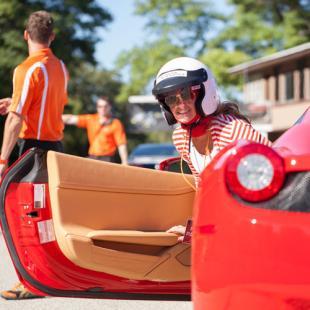 Race a Ferrari near Charlotte