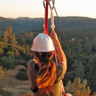 Zip Line Adventure near Sacramento