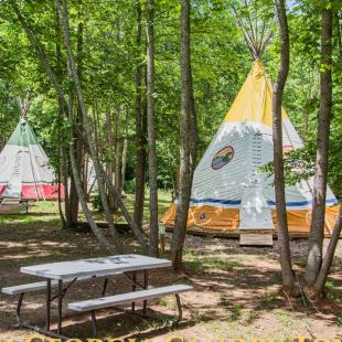 Stay in a Teepee For Two Nights!