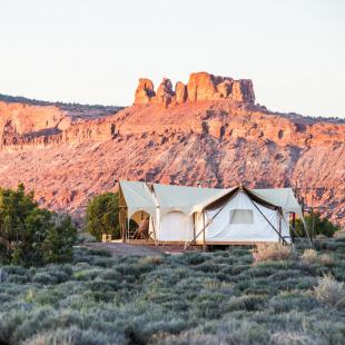 Glamping in Moab