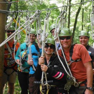 Group Zipline near Indinapolis