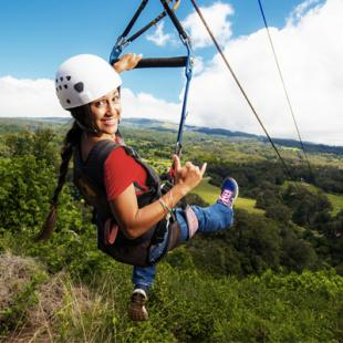 Zipline and Waterfalls of Maui