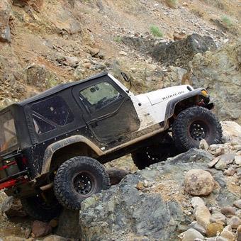 Earthquake Canyon Jeep Tour