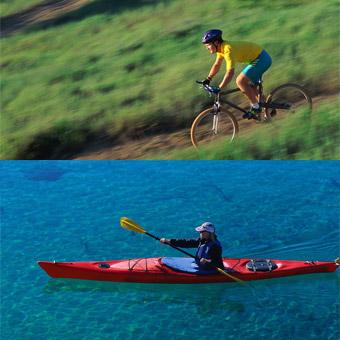 Miami Kayak and Mountain Biking Tour