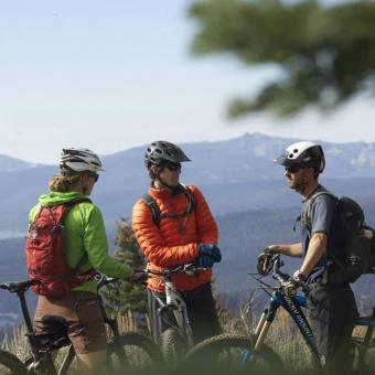 Advanced Mountain Biking Tour of North Lake Tahoe