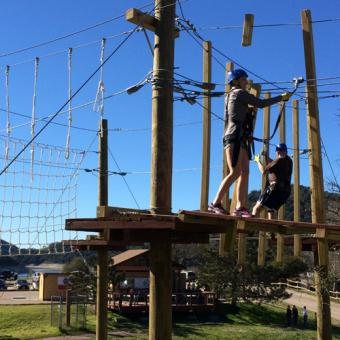 High Ropes Course Experience