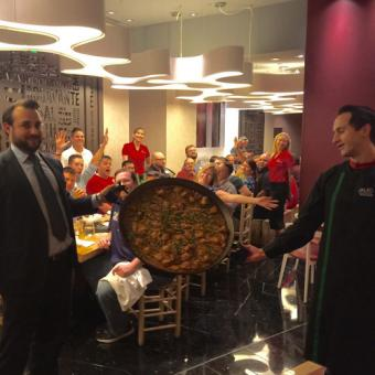 Signature Dish Presented on Culinary Adventure Tour
