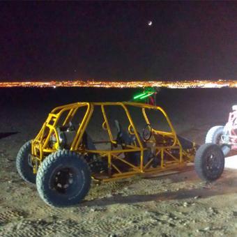 After Dark Dune Buggy Experience near Las Vegas