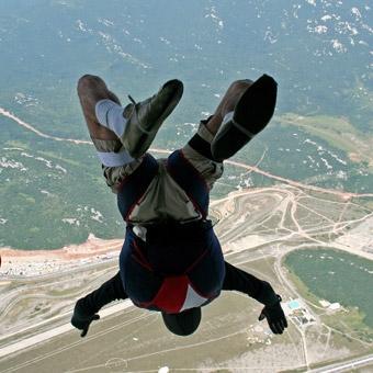 Accelerated Free Fall Skydiving in Atlanta