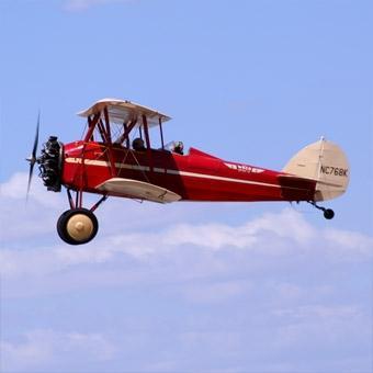 Scenic Biplane Ride for 2 in Orange County